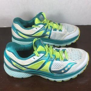 Saucony Everun Triumph Isofit Shoes Sz 7